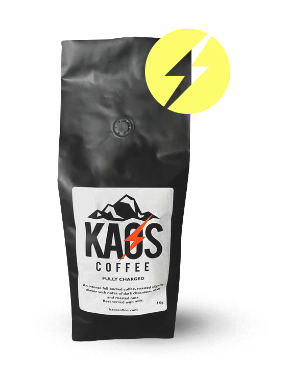 Fully Charged Kaos Coffee